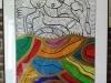 Acryl / inkt. J.Koumy 1961-