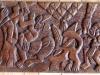 Afrikaans houtsnijwerk.
